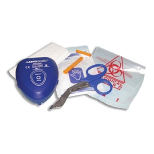 Defibrillator preperation kit