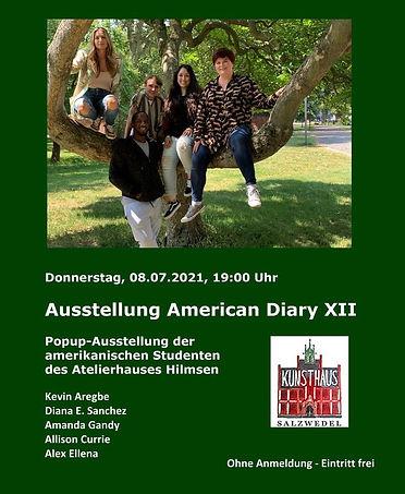 American Diary XII - Pop-Up Exhibit