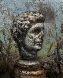 Classical Male Head Fragment