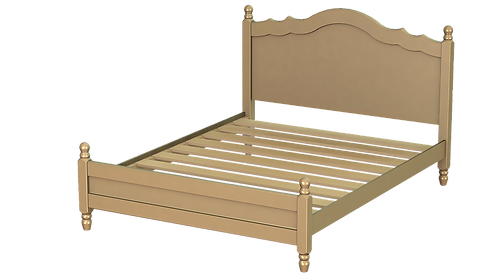 Rococo Bed Frame