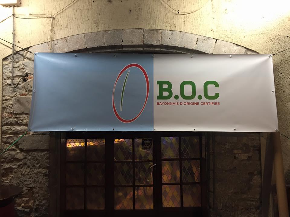Banderole BOC
