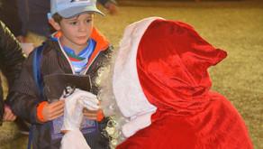 Le Père Noël présent pour Bayonne / Perpignan !