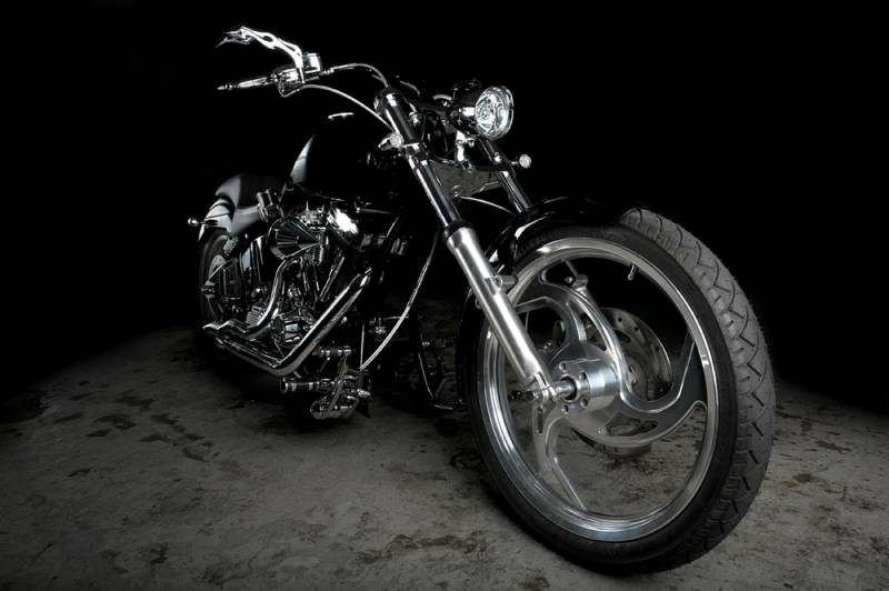 Custom Chopper made by Dream Bikeworks Inc.