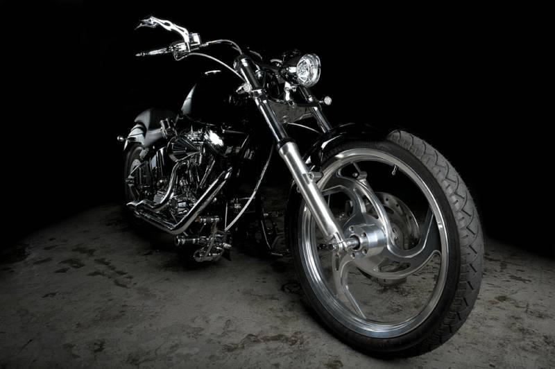 Custom Chopper made by Dream Bikeworks Inc.
