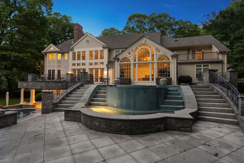 Twilight Real Estate Photography Weston Massachusetts