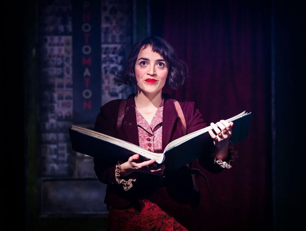 Audrey Brisson as Amelie.  Photo credit Pamela Raith