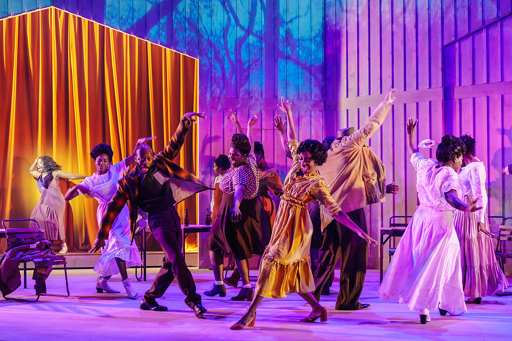The cast of The Color Purple (Photo credit Manuel Harlan)
