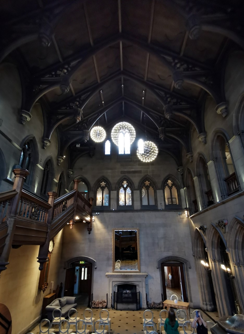 The Great Hall at Matfen Hall