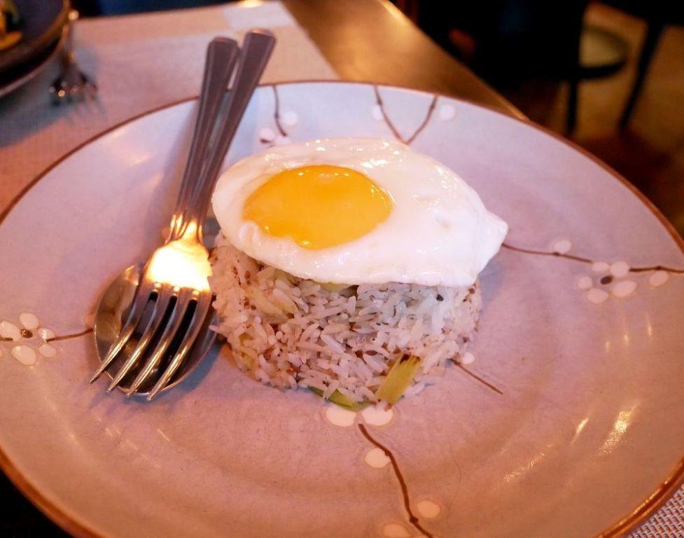 Truffle egg rice