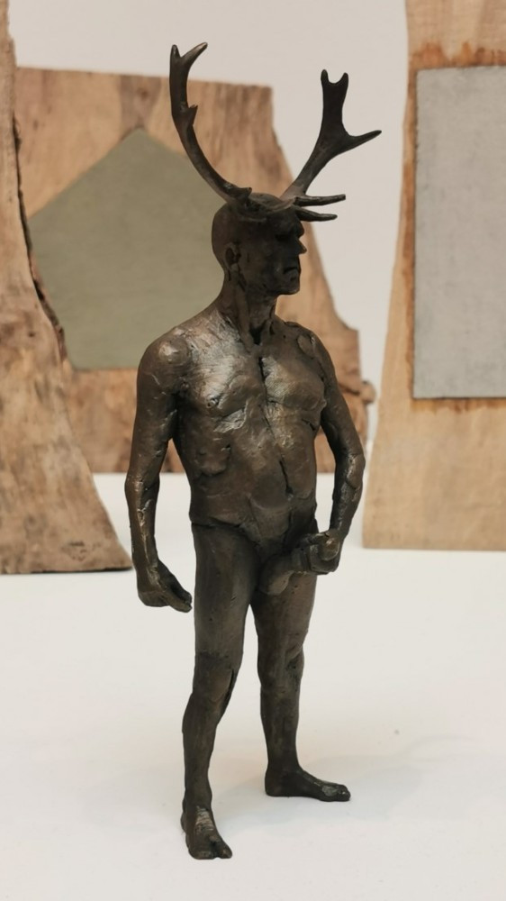 """Bronze at RA exhibition entitled, """"Taking Back Control"""""""