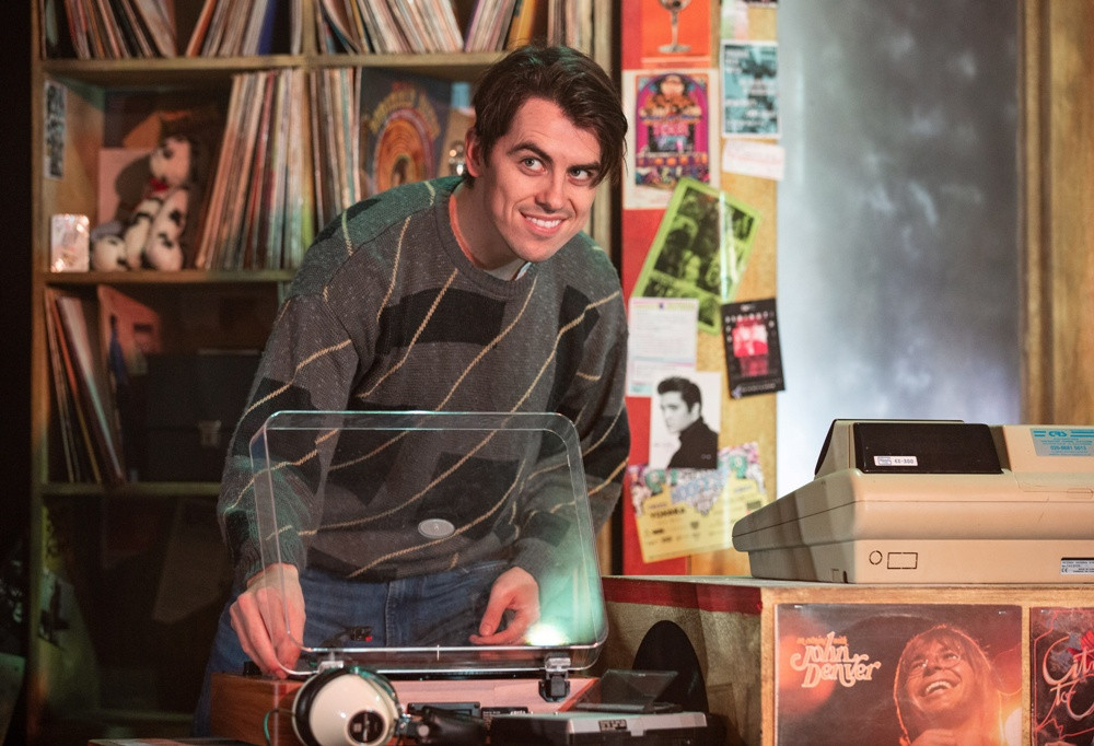 Oliver Omson as Rob in High Fidelity the Musical