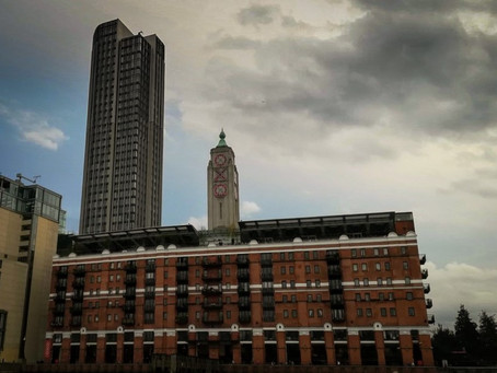 Summer dining at the OXO Tower on London's Southbank