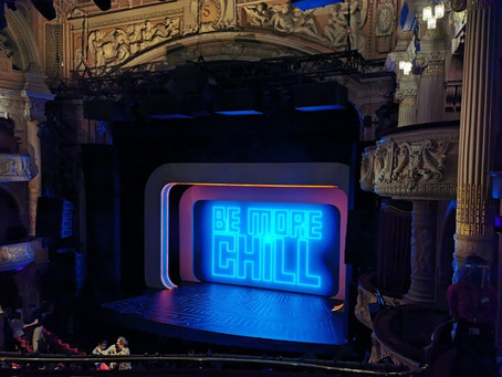 Theatre returns to London - a review of the musical 'Be More Chill'