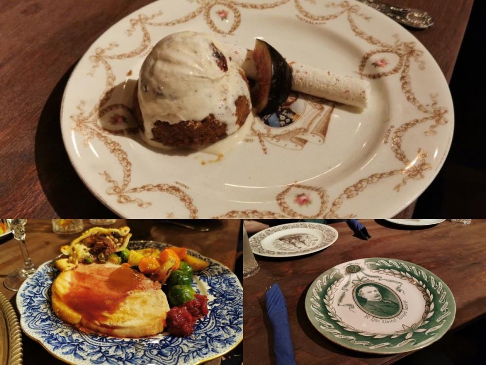Dinner at A Christmas Carol