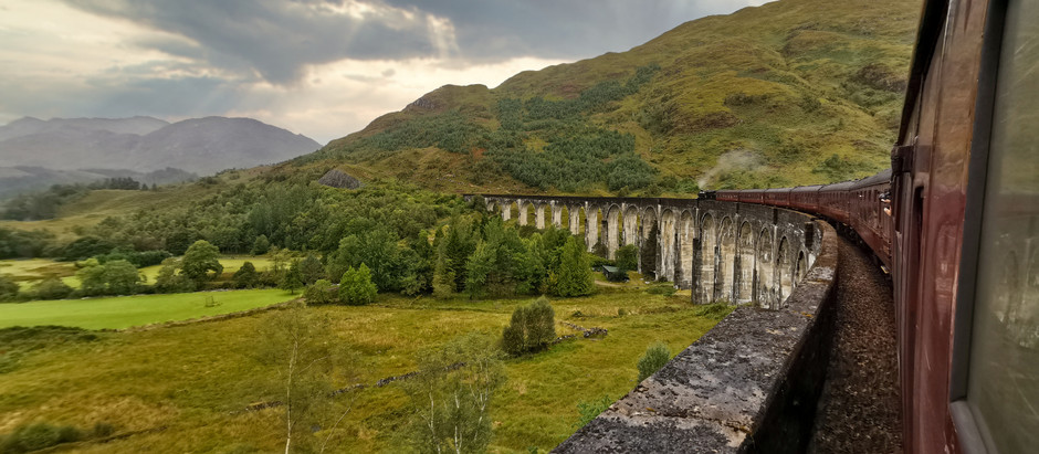 Scottish Road Trip Nights 3 and 4: Loch Ness, and a trip back in time on The Jacobite