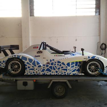 Decorazione auto da corsa Radical