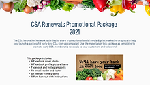 CSA Renewals Promotional Package - 2021