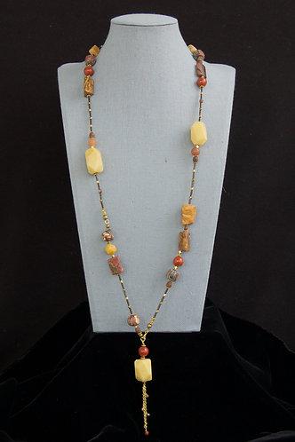 Silk Road Lariat Necklace