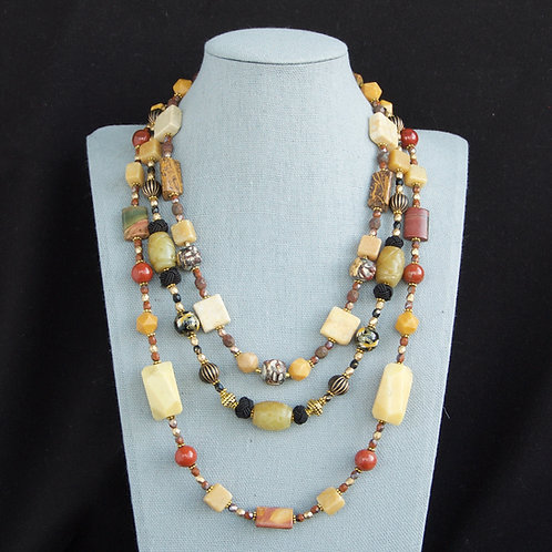 Silk Road Nested Necklaces - Sold Separately