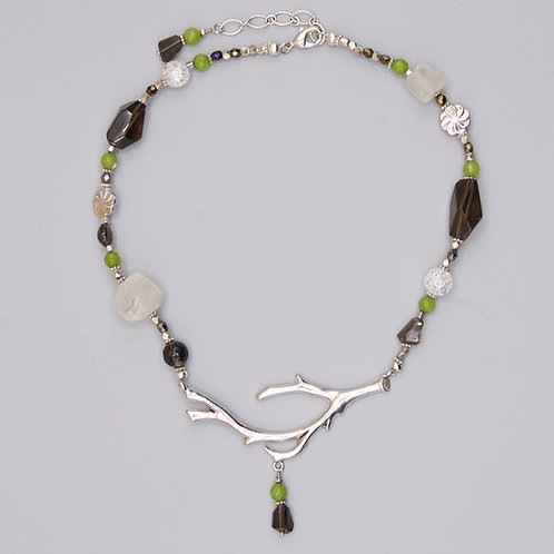Sierra Silver Bough Necklace