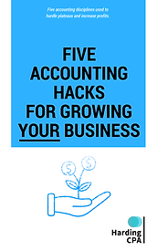 Five Accounting Hack for Growing Your Business