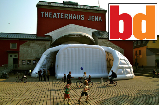 Jena TheatreHaus Featured in Building Design Magazine
