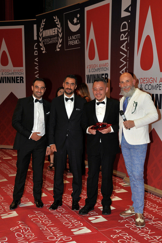 MSSM Associates Receive Golden A' Design Award