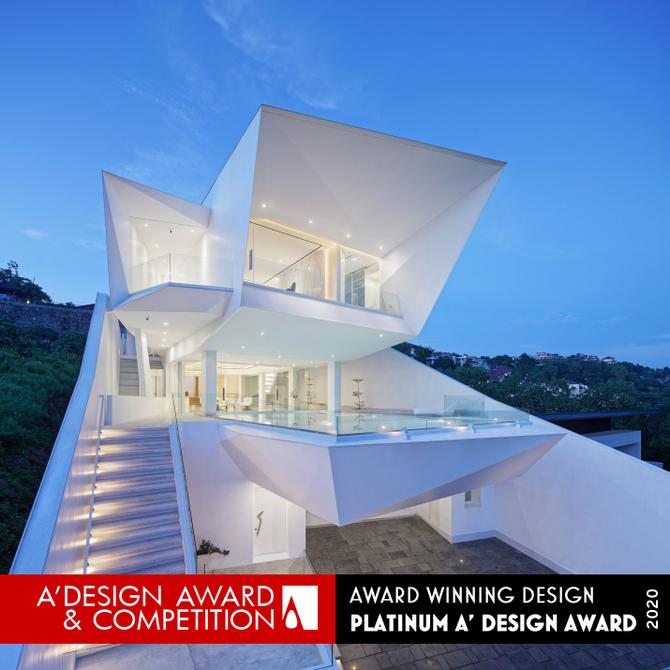 Z-Line House receives the Platinum A' Design Award