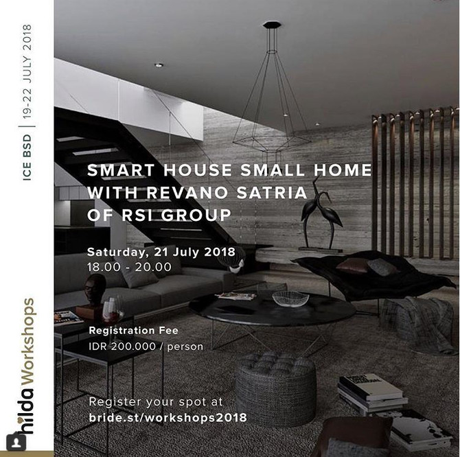 'Smart House, Small House' Workshop by Revano Satria