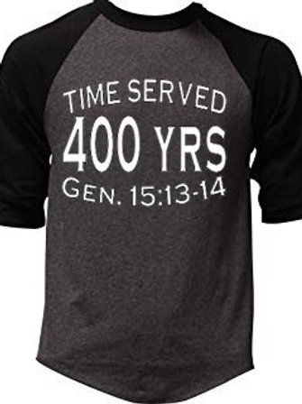 400 Years Raglan and Soft Tee