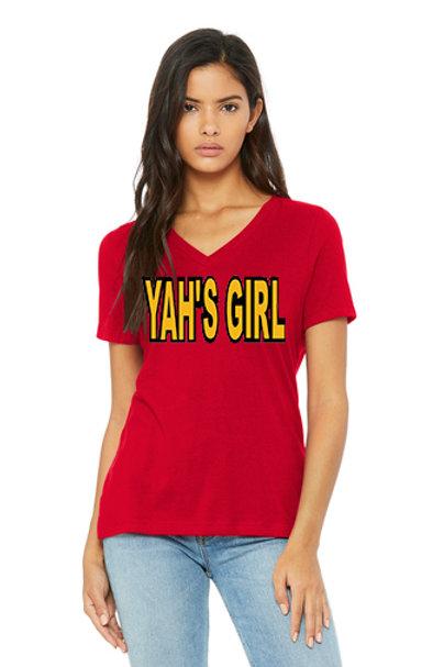 Yah's Daughter, Army, or Girls Shirt