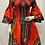 Thumbnail: Dashiki Smoked Ankara African Dress