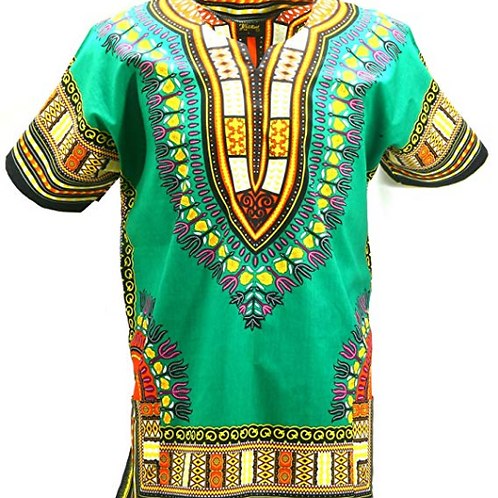Dashiki Tribal African Caftan Boho Unisex Shirt