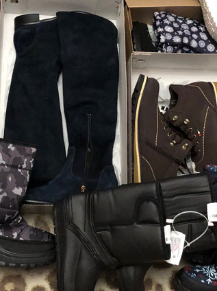Winter boots and shoes