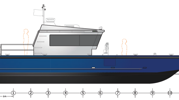 whitehouse 38' landing craft