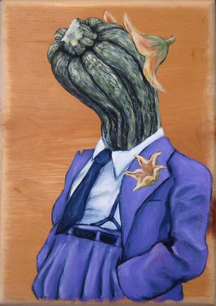 Zucchini Zoot Suit
