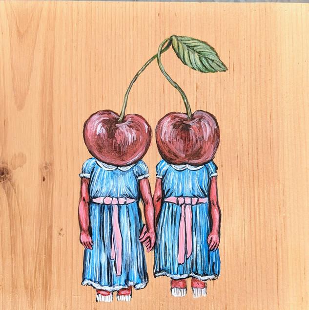 Shining Cherry Twins