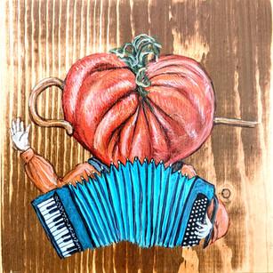 Tomato Accordion