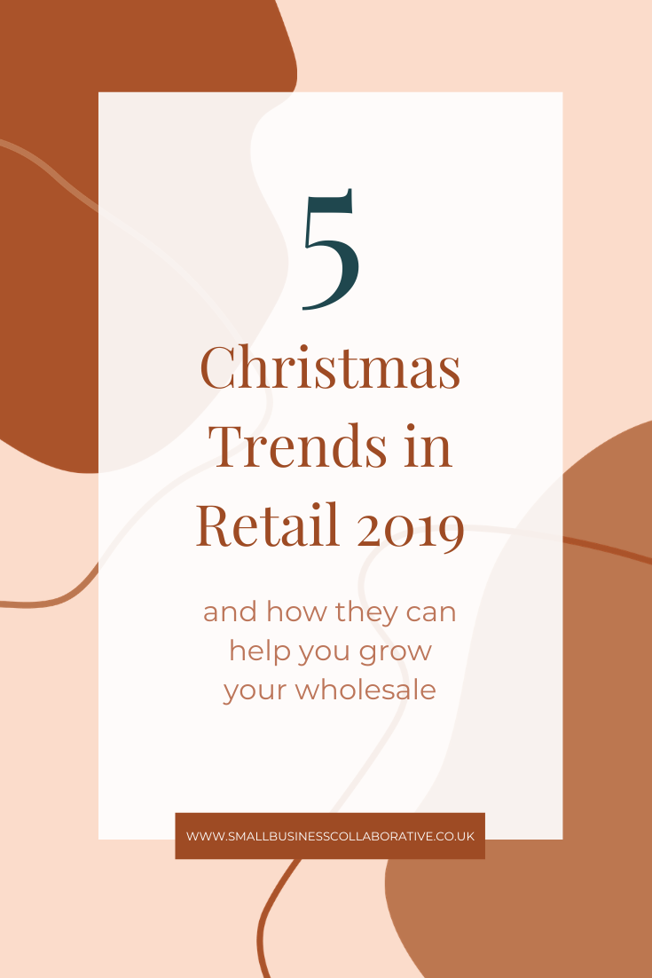 wholesale, small business collaborative, Christmas trends, retail trends, grow your wholesale, retail sales, small business