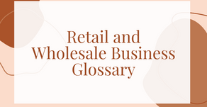 Retail and Wholesale Business Glossary
