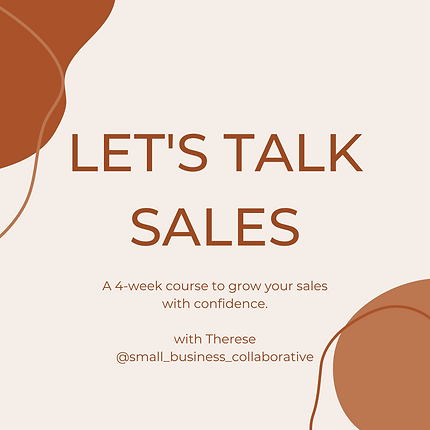 Copy of LET'S TALK SALES A four-week LIV