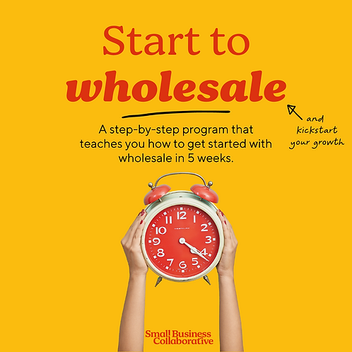 Start to Wholesale - June 2021 course
