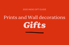 Prints and wall decorations gift guide