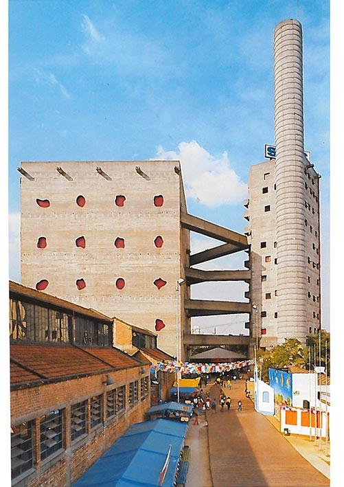 Pompeia factory, Lina Bo Bardi, Sao Paulo, 1977-86