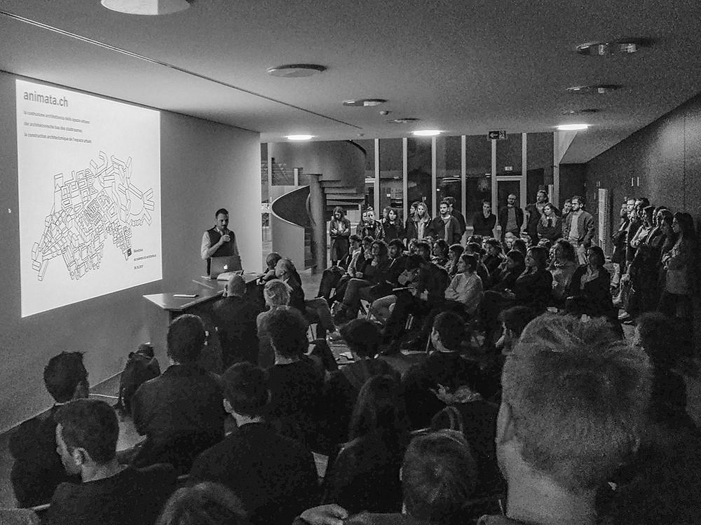animata.ch @ accademia di architettura, Mendrisio con: Frédéric Bonnet, Franz Fallavollita, Ludovica Molo, Jonathan Sergison