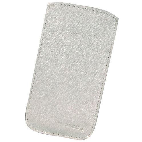 Frente da capa para celular branca