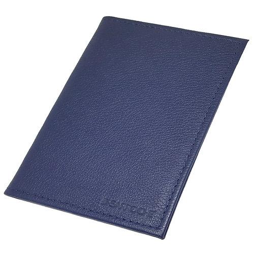 Porta documentos vertical azul