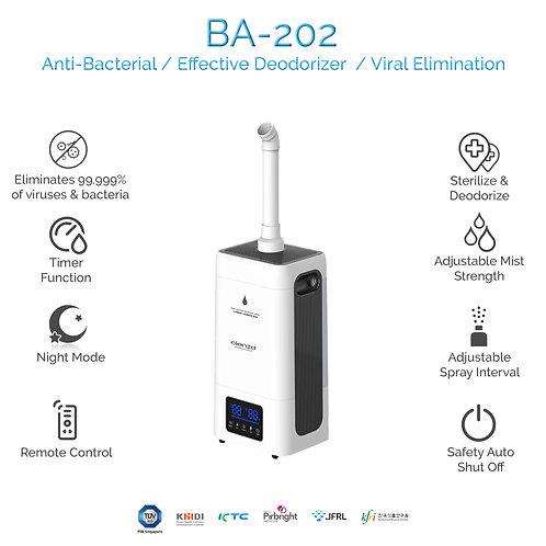 BA-202 Atomizer + Free 20L Clenzd