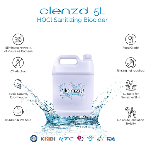Clenzd Sanitizer 5L