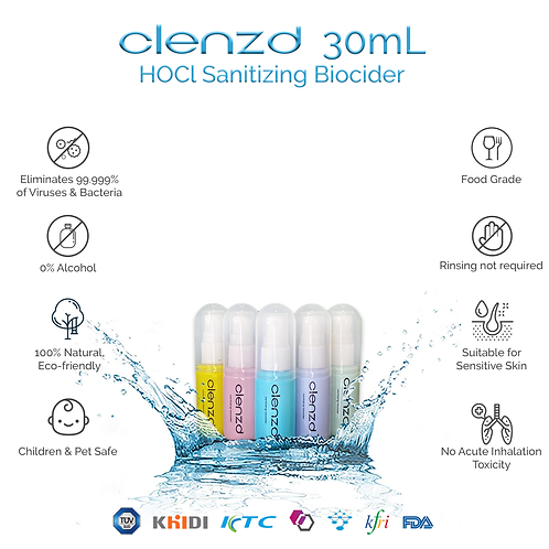 Clenzd Sanitizing Spray 30ml